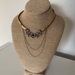Golden Lotus Collar Necklace Chloe+Isabel